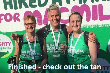 macmillan cancer hike