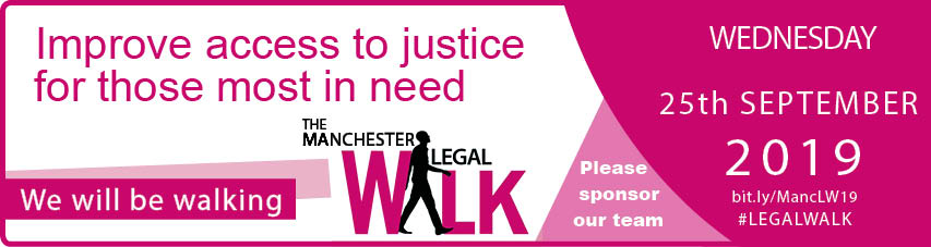 The annual event takes place on Thursday 28th September 2017 when it is hoped that hundreds of walkers from the legal sector, take to the streets of the city centre of Manchester and walk 10k in order to raise funds for the North West Legal Support Trust (NWLST).