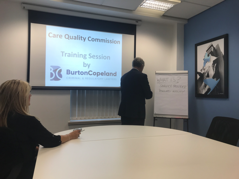 Burton Copeland Offers Free Training Sessions for Care Providers