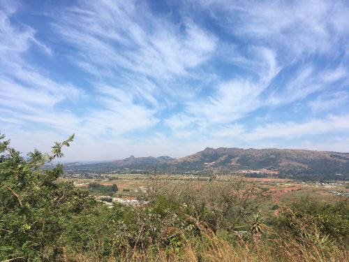 Stunning scenery in the Msunduza region