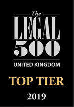 "Burton Copeland ""Top Ranked"" again in the 2019 edition of the Legal 500"