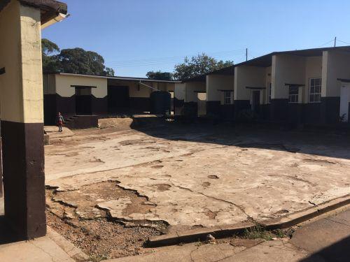 Yard at the school in Msunduza