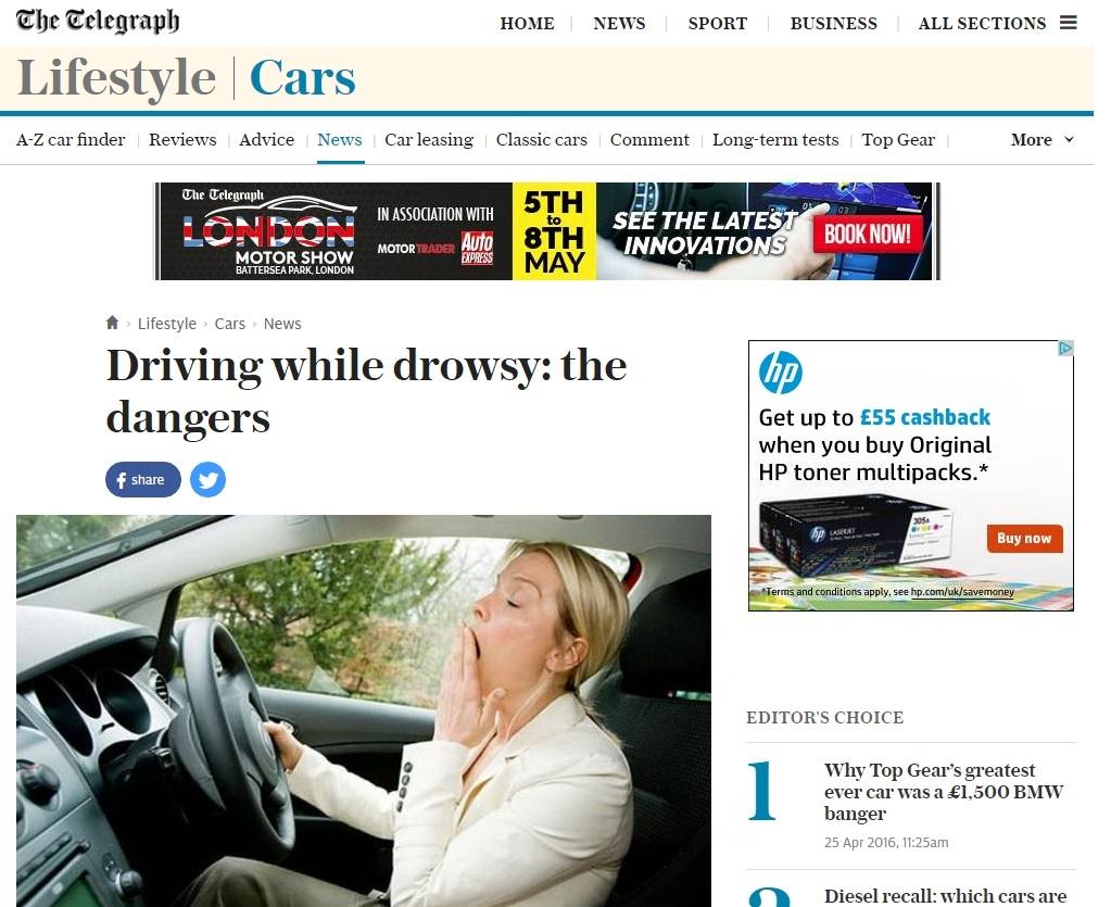 driving drowsy