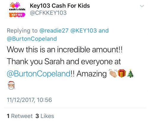 key 103 cash for kids