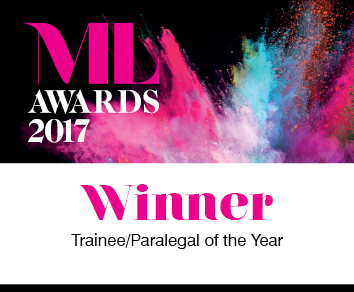 Trainee paralegal of the year