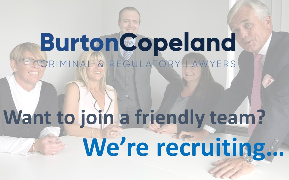 We are recruiting on facebook